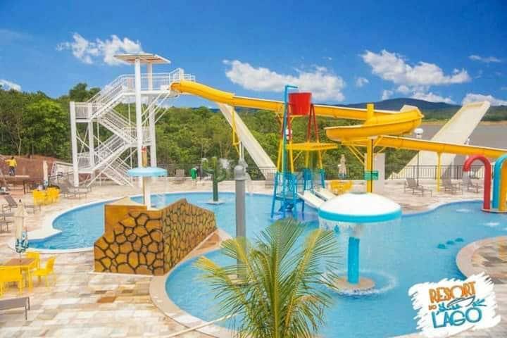 Apto - Resort do Lago/Caldas Novas-GO