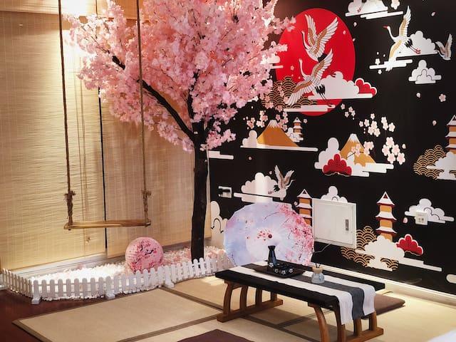 【小时代·东瀛·樱】日式/1080P全高清投影/杜比音效/近方特/近火车高铁站/市区