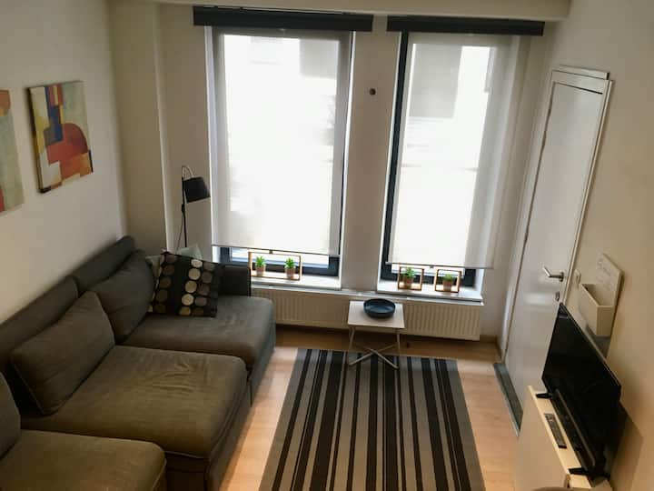 Cosy studio in Antwerp city centre