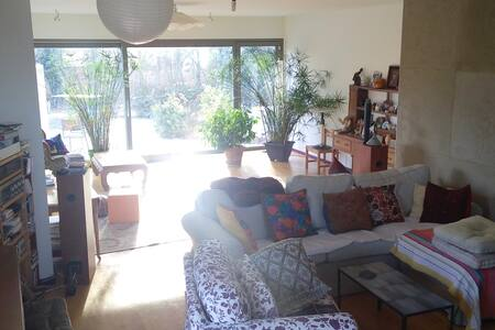 Spacious and calm room in big house - Cartigny - Σπίτι