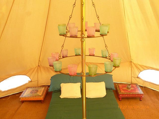 Bell Tent in the Mountains - Flix - Barraca