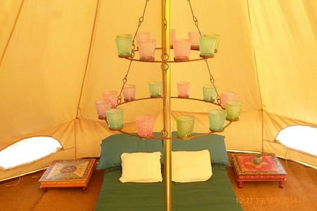 Bell Tent in the Mountains - Flix