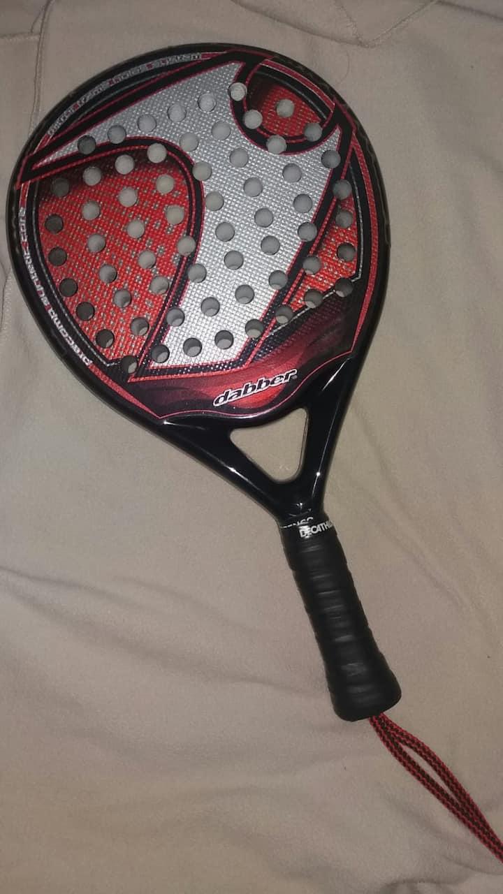 La raquette de Padel