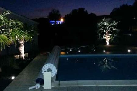 Belle contemporaine 170m2 piscine - Lagorce - Casa