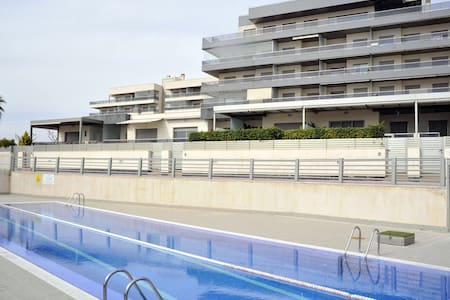 Apartamento en 1ª linea de playa - Los Arenales del Sol