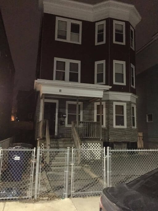 3rd Floor apartment is available. (No designated parking. There is street parking and it is a side street so there shouldn't be any trouble finding parking.)