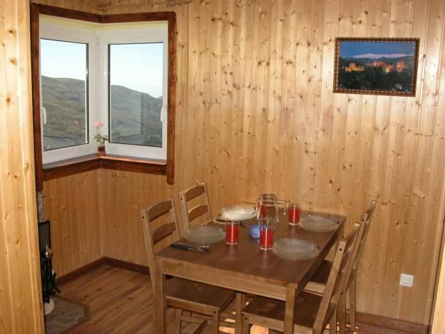 Forrado en madera con bellas vistas