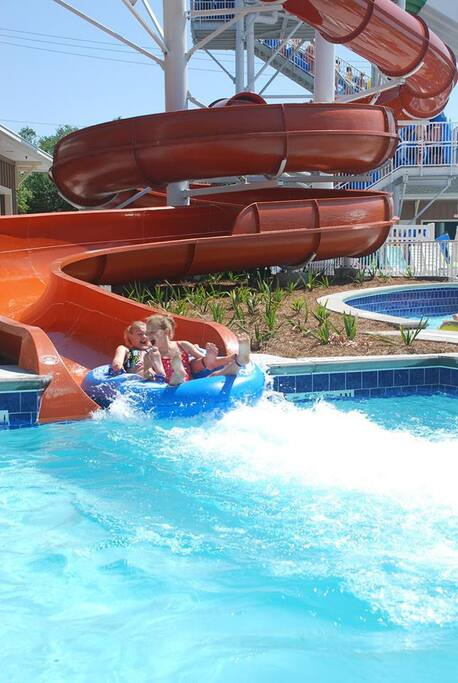Water park, free to all guests