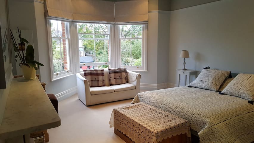 Lovely large bright room in Victorian Family Home