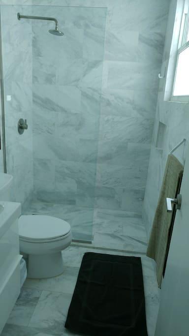 Marble All New Bathroom