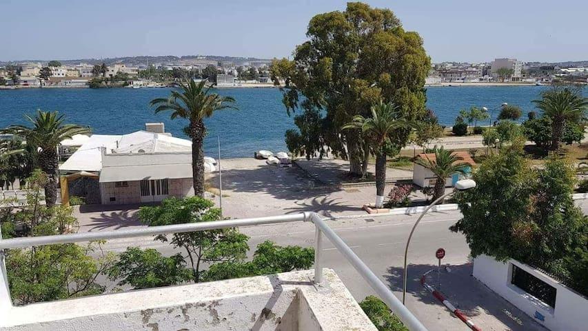 Coquet appartement vue sur mer