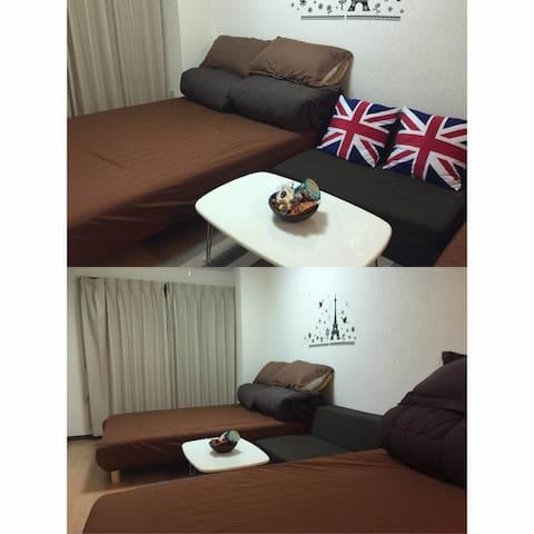 Osaka, Umeda Lin's guesthouse