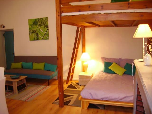 Loft moderne au cœur de la cité - Villefranche-de-Conflent - Apartament