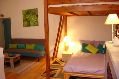 Loft moderne au cœur de la cité - Villefranche-de-Conflent