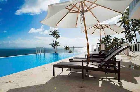 Ocean front Samana Luxury Vista Mare 2 Bedroom Apt