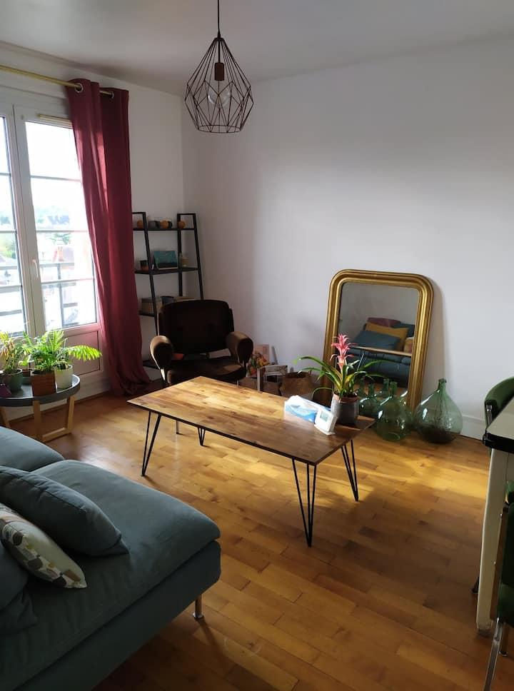 Appartement de charme à Blois