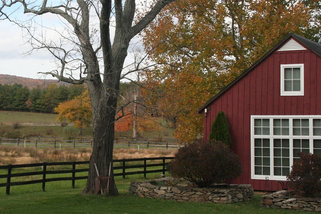 The Cottage in Fall