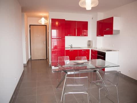 Appartement 1 chambre 40m² avec terrasse au bord de mer au Cap Corse