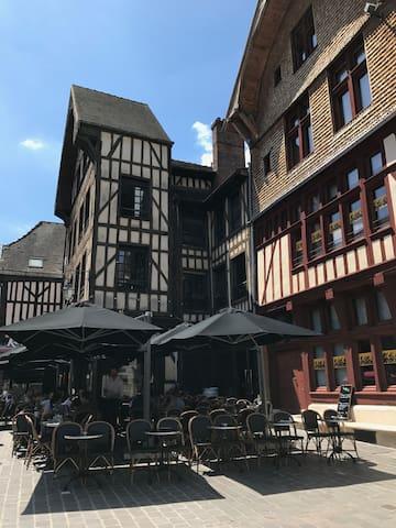 Coeur de ville de Troyes
