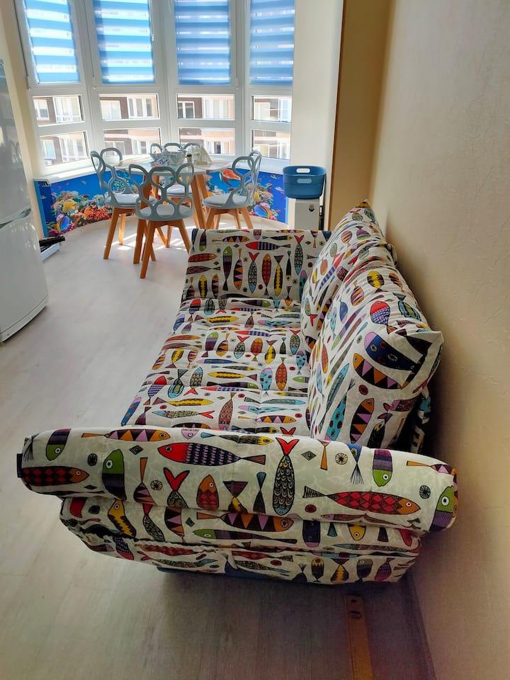 1 ком.квартира ,с комфортными условиями проживания