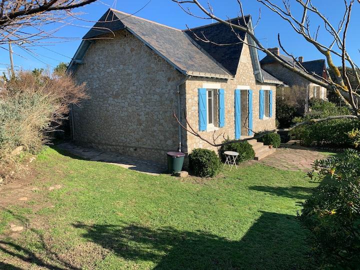 Maison de charme face mer à Batz-sur-Mer