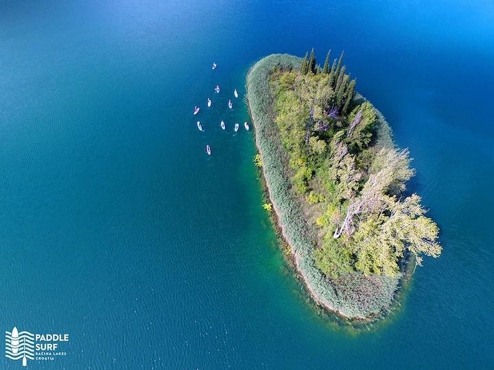 Paddling around Island Of Love