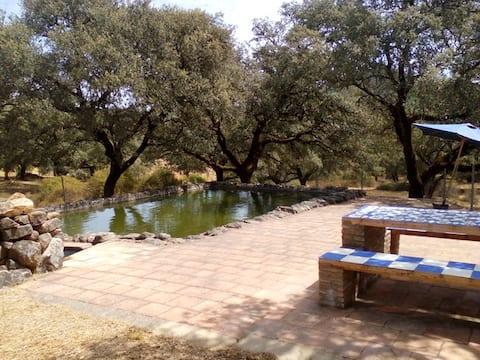 Własność prywatna w Sierra de Aracena