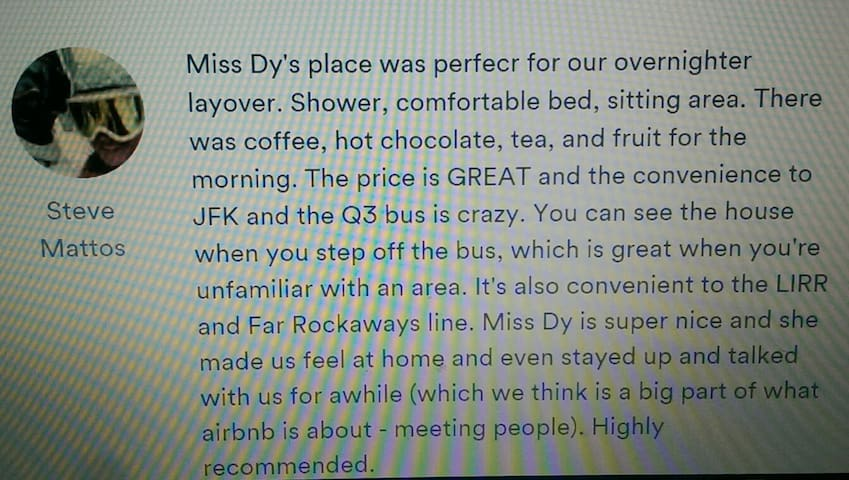 THE PRIVACY DEN ~ 5 MINUTES TO JFK - Queens - Hus