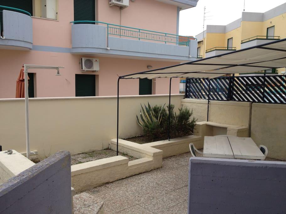 Terrazzo appartamento 3F