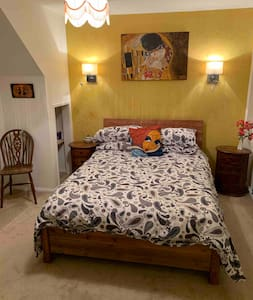 Spacious double room with own bath