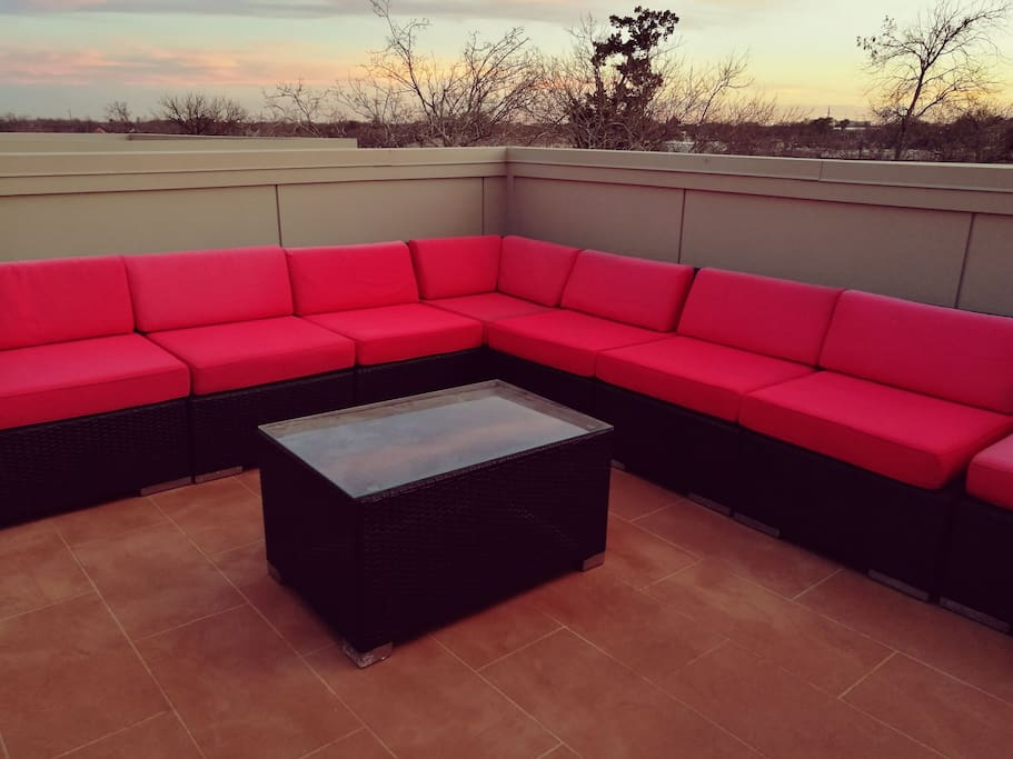 Plenty of seating for large parties