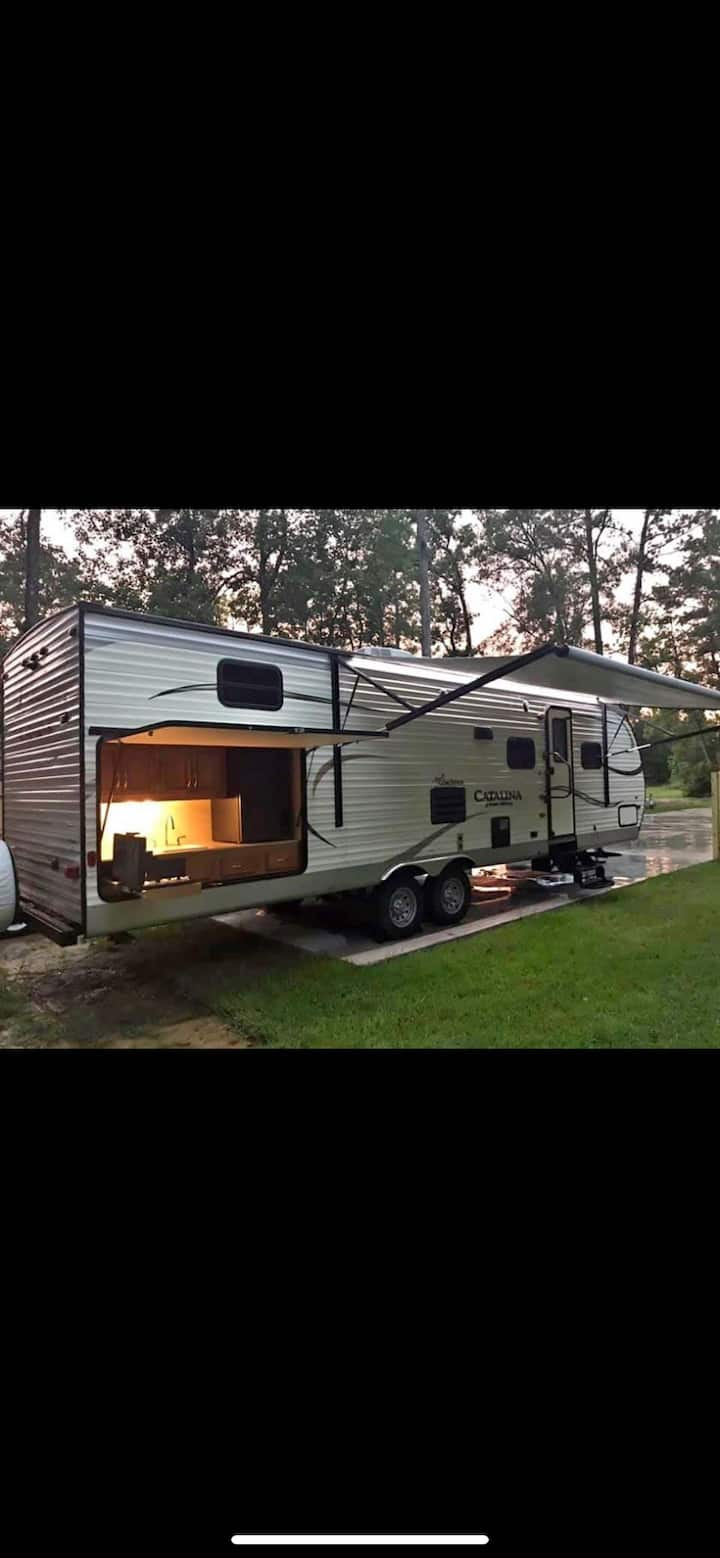 New RV for Rent at our Beautiful RV Park