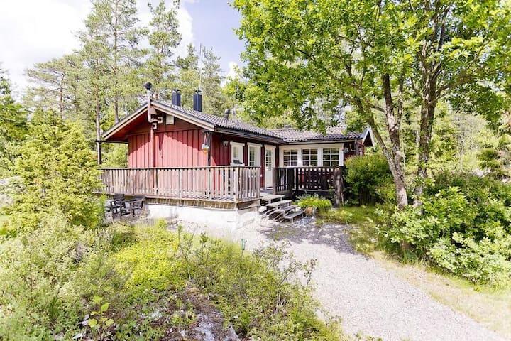 Charmigt hus nära Uppsala