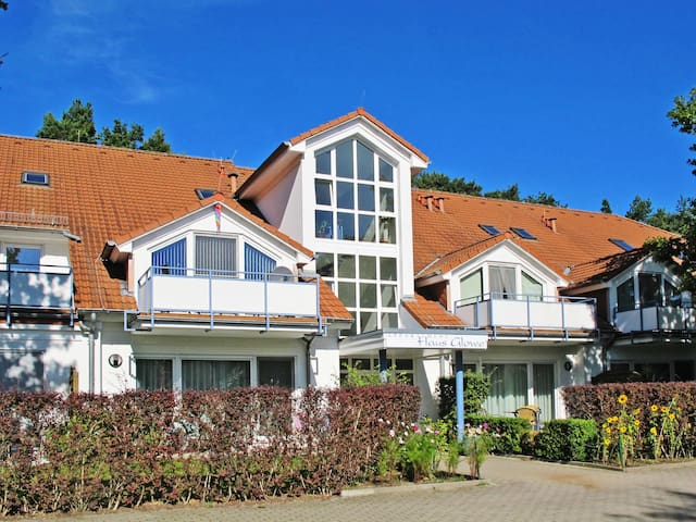 48 m² Apartment Appartementhaus Glowe for 4 persons