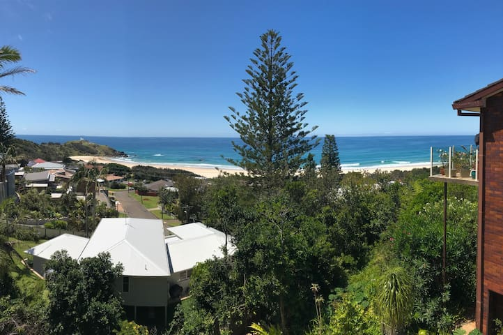 Lighthouse Beach View - watch the whales