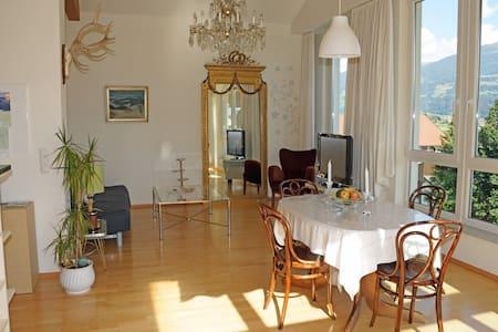 Exquisite Wohnung mit Traumausblick - Thaur - Apartament