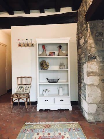 L'entrée du gîte