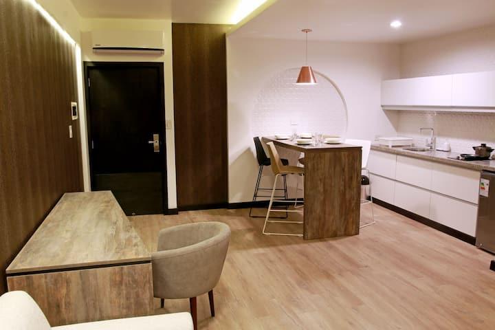 Apartamento con excelente vista 1205