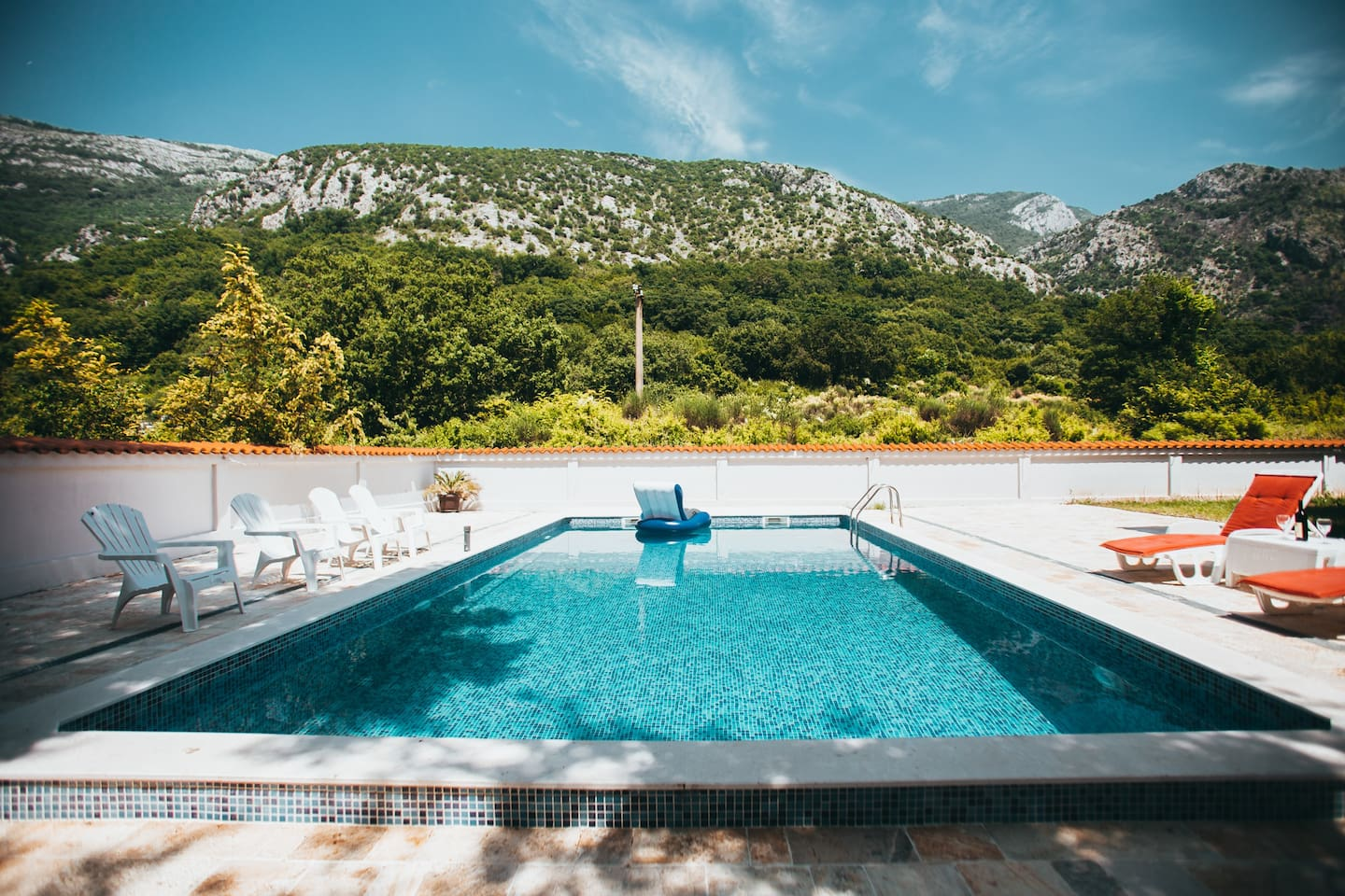 Enjoy your summer days by the pool