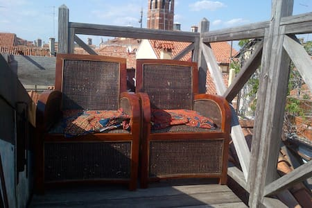 S.Marco, independent room with terrace & bathroom - Venezia - Apartment