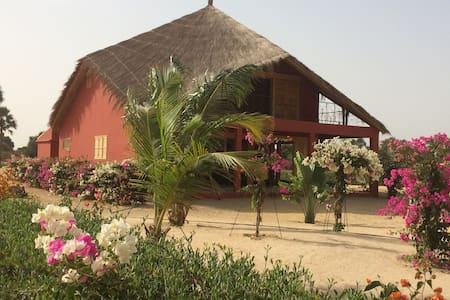 KEUR MAEWENA : superbe Eco-Villa d'architecte - Mar Lodj - Villa