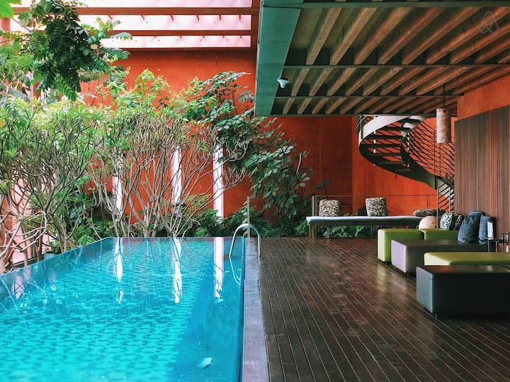 Lush stay with emblematic views of CDMX