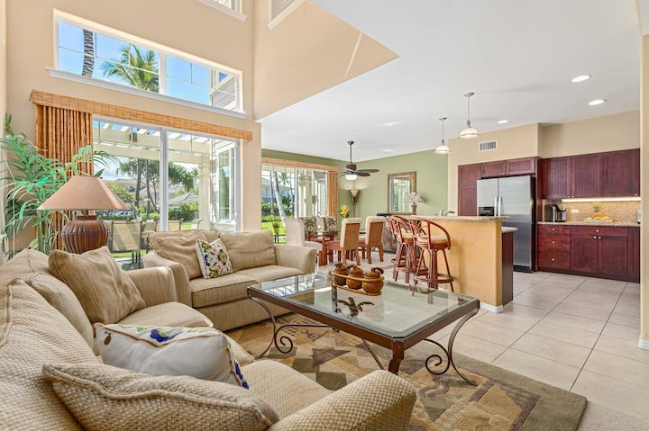 Waikoloa Fairway Villa L4. Includes Waikoloa Gold Member Golf Benefits.