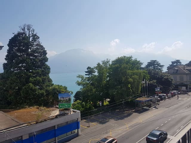 Appartement in Montreux with amazing view on lake