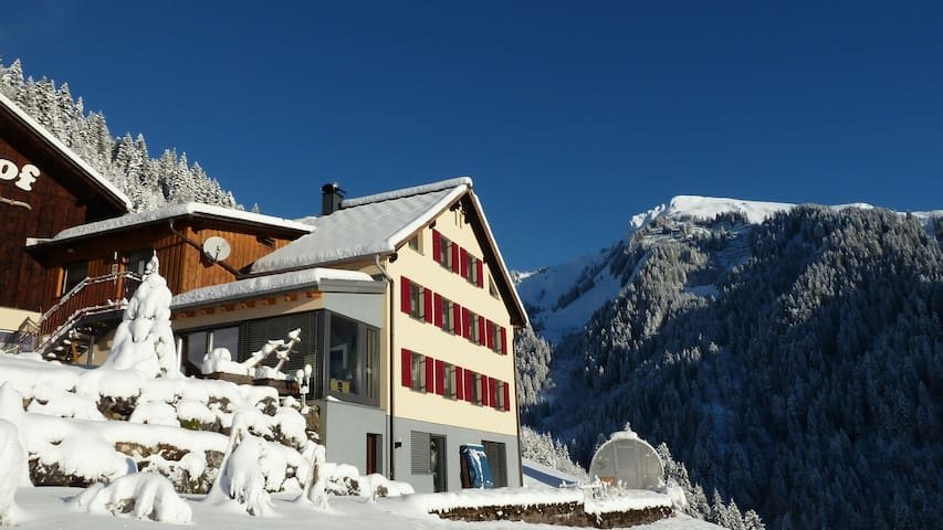 Ferienwohnung im Großen Walsertal - Fontanella
