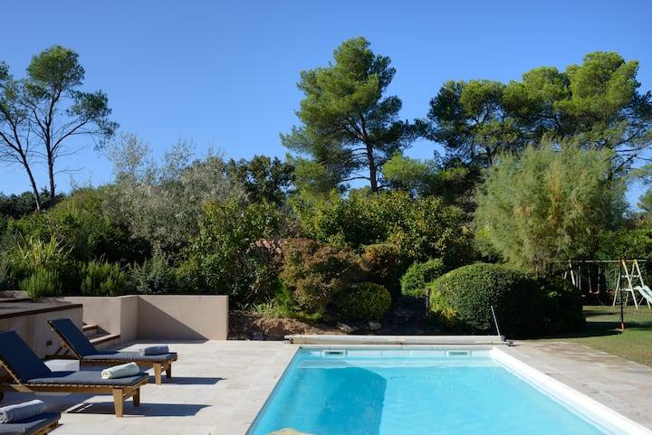 T1 - 33m2 indépendant, climatisé, piscine chauffée