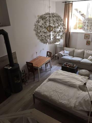 Atmosphärische Souterrain Wohnung in alter Villa