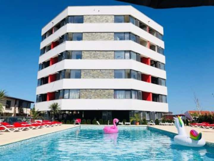 Two Bedrooms Apartment Unique Luxury  Mamaia Nord