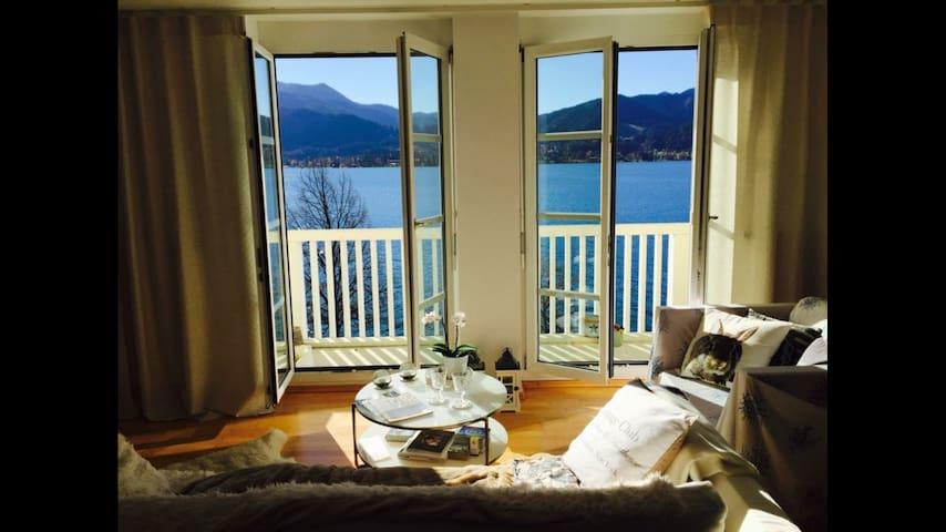 Wohnung mit Blick auf den Tegernsee - Tegernsee - Byt