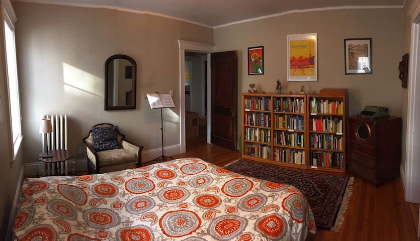 Private spacious room for book lovers